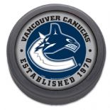 Vancouver Canucks Established 1970 Commemorative NHL Puck